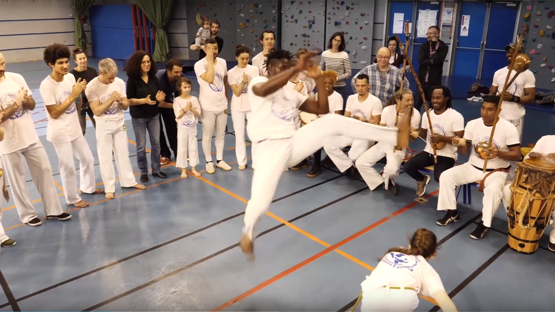 Capoeira Clip institutionnel Association Gingando