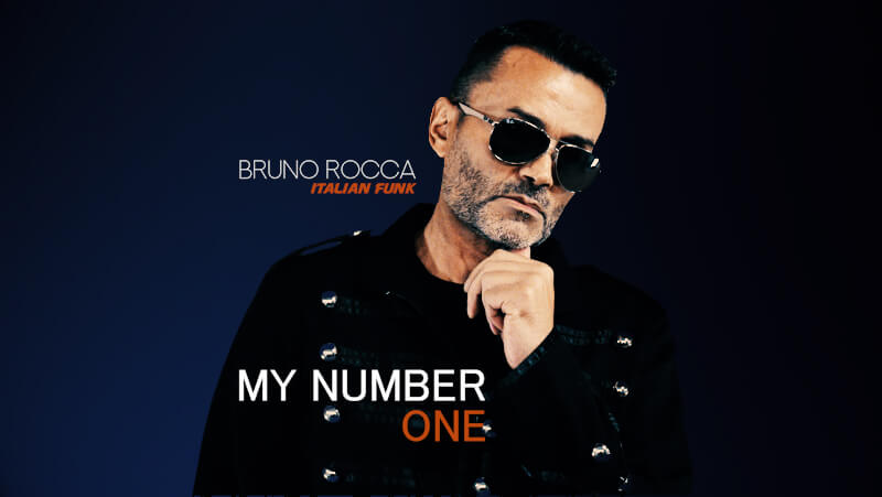 Pochette Bruno Rocca -My Number One